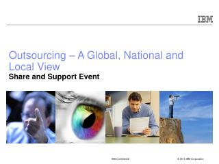 Outsourcing – A Global, National and Local View Share and Support Event
