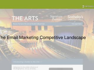The Email Marketing Competitive Landscape