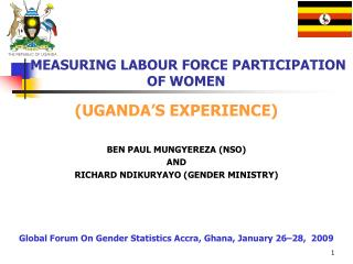MEASURING LABOUR FORCE PARTICIPATION  OF WOMEN