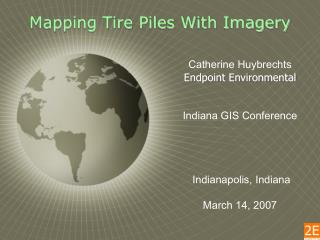 Mapping Tire Piles With Imagery