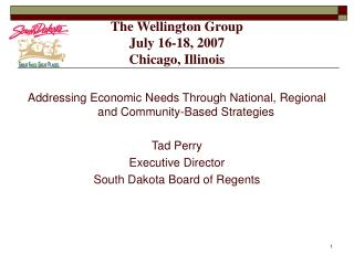 The Wellington Group July 16-18, 2007 Chicago, Illinois
