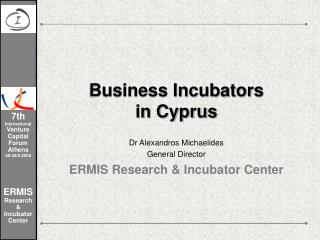 Business Incubators in Cyprus