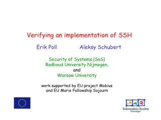 Verifying an implementation of SSH