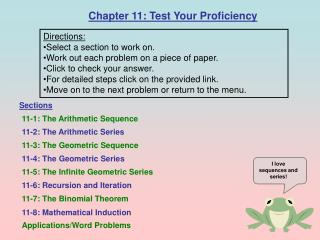 Chapter 11: Test Your Proficiency