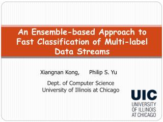 An Ensemble-based Approach to Fast Classification of Multi-label Data Streams