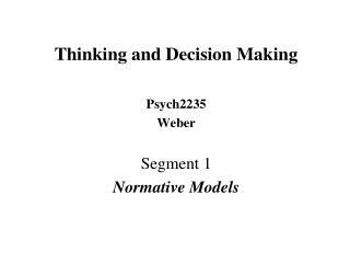 Decision Making as Constrained Optimization