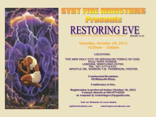 Women's conference hosted by Apostle Dr. Sharon Thompson