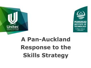 A Pan-Auckland Response to the Skills Strategy