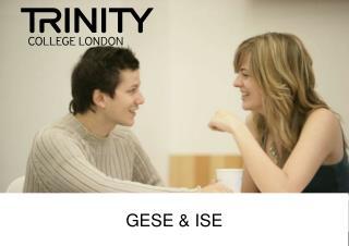 GESE & ISE