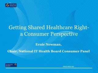 Getting Shared Healthcare Right- a Consumer Perspective