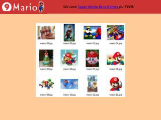 Cool Super Mario Bros Pictures