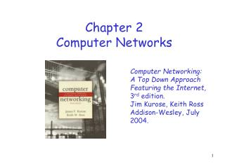 Chapter 2 Computer Networks