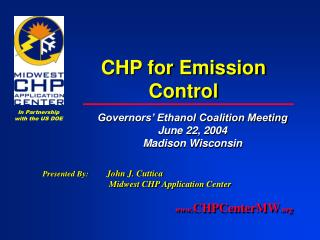 CHP for Emission Control