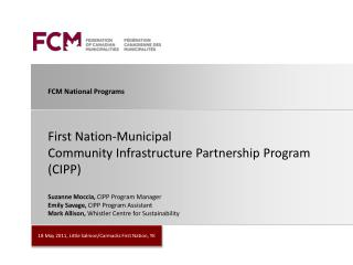 FCM National Programs