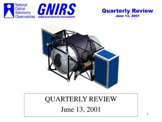 QUARTERLY REVIEW June 13, 2001