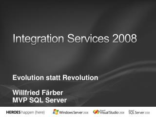 Integration Services 2008