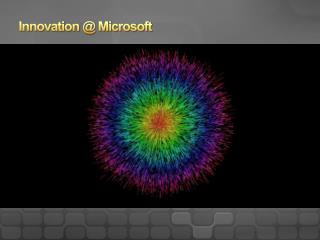 Innovation @ Microsoft