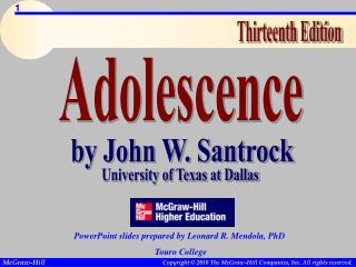 by John W. Santrock