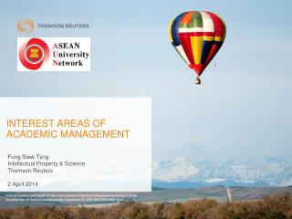INTEREST AREAS OF  ACADEMIC  MANAGEMENT