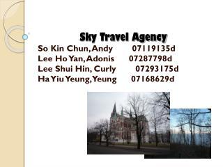 Sky Travel Agency