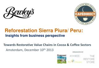 Reforestation Sierra Piura/ Peru:   Insights from business perspective