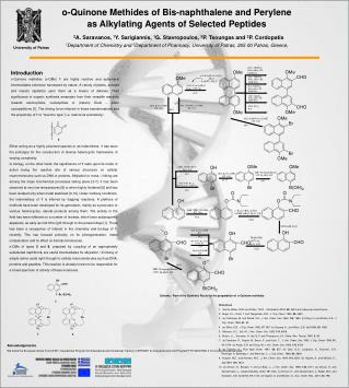 o-Quinone Methides of Bis-naphthalene and Perylene as Alkylating Agents of Selected Peptides