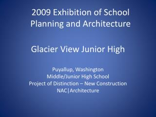 Glacier View Junior High