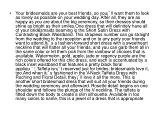 Your bridesmaids are your best friends