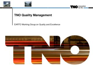 TNO Quality Management