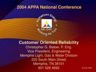 2004 APPA National Conference