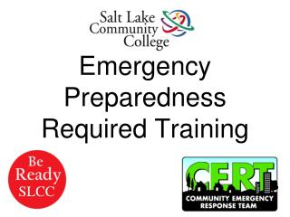 Emergency Preparedness Required Training