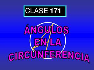 CLASE 171