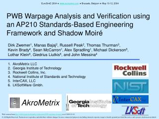 PWB Warpage Analysis and Verification using an AP210 Standards-Based Engineering Framework and Shadow Moir