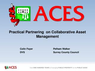 Practical Partnering  on Collaborative Asset Management