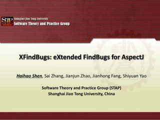 XFindBugs: eXtended FindBugs for AspectJ