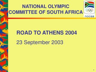 NATIONAL OLYMPIC  COMMITTEE OF SOUTH AFRICA