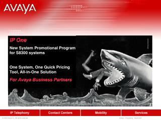 IP One New System Promotional Program for S8300 systems