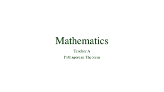 Tiered Assignments: Pythagorean Theorem