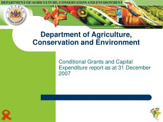 Department of Agriculture, Conservation and Environment