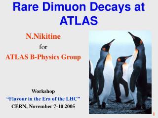Rare Dimuon Decays at ATLAS