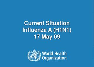 Current Situation  Influenza A (H1N1) 17 May 09