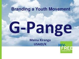 G-Pange Maina Kiranga USAID/K