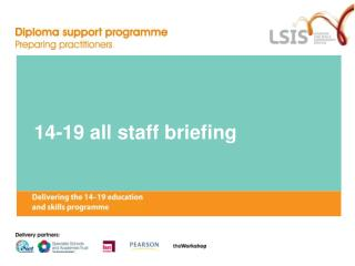 14-19 all staff briefing