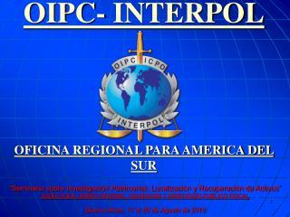 OIPC- INTERPOL