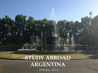 Study Abroad Argentina