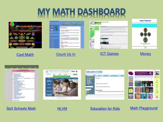 My  Math Dashboard