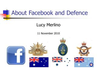 About Facebook and Defence