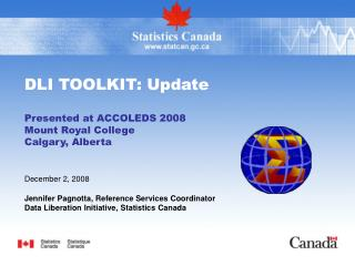 DLI TOOLKIT: Update