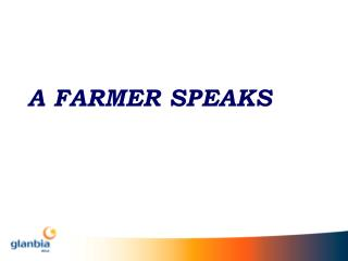 A FARMER SPEAKS