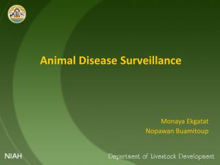 Animal Disease Surveillance